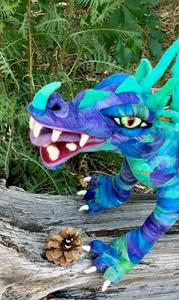 Detail Image for art Needle Felted Dragon