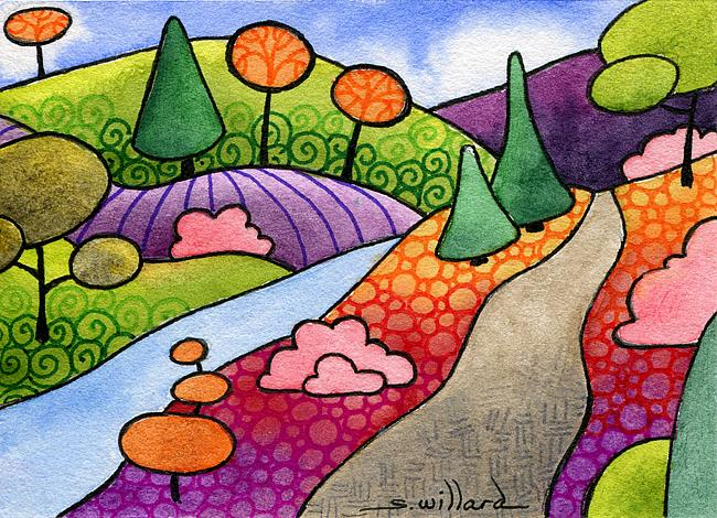 Art: Centennial Trail by Artist Sandra Willard