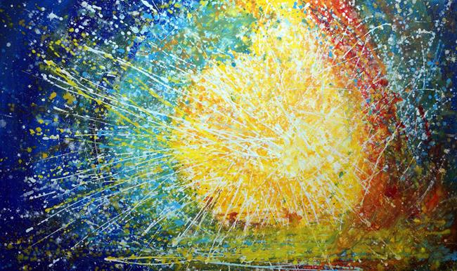 Art: SUNLIGHT by Artist LUIZA VIZOLI