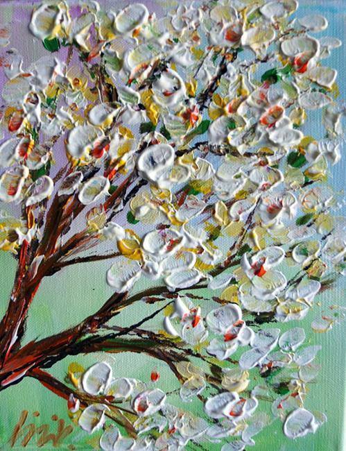 Art: MAGNOLIA BLOSSOM by Artist LUIZA VIZOLI