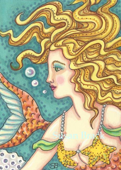 Art: GOLDIE by Artist Susan Brack