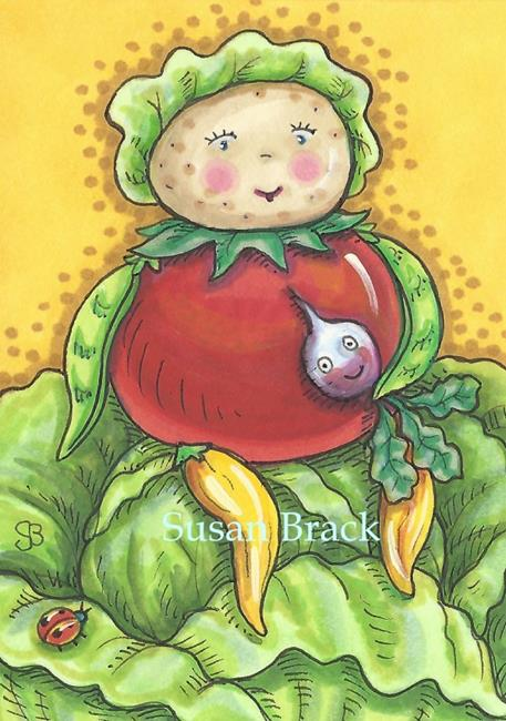 Art: BABY TATER by Artist Susan Brack