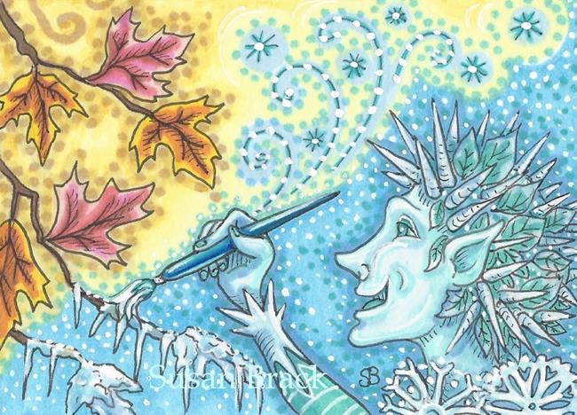 Art: JACK FROST by Artist Susan Brack
