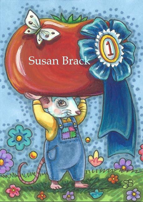Art: HOME GROWN CHAMPION by Artist Susan Brack