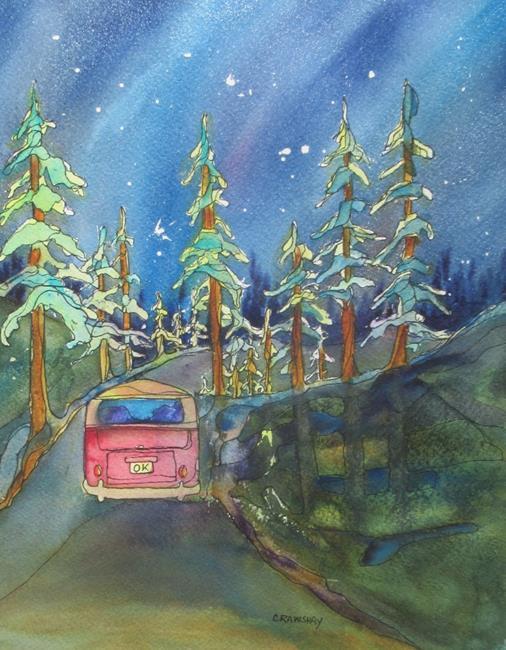 Art: OK by Artist Kathy Crawshay