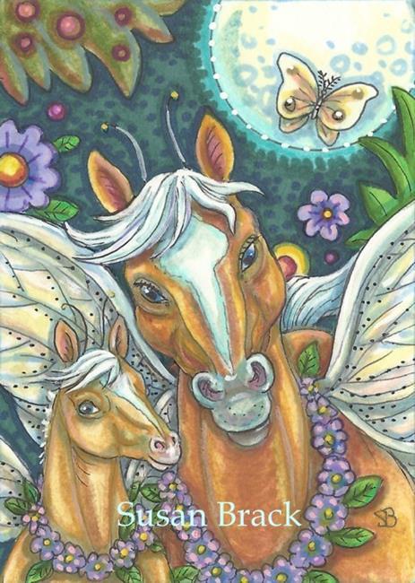 Art: MAGIC MOON by Artist Susan Brack