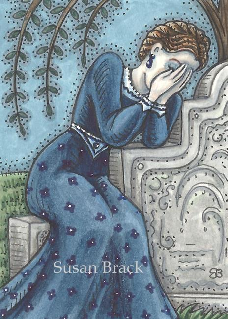 Art: TEARS AND SORROW by Artist Susan Brack