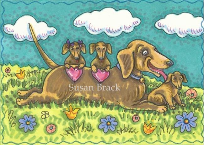 Art: BEST MOM IN THE WORLD by Artist Susan Brack