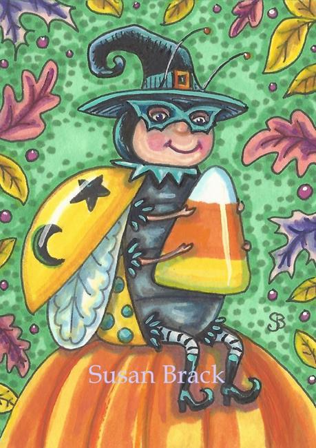 Art: LADYBUG IN DISGUISE by Artist Susan Brack