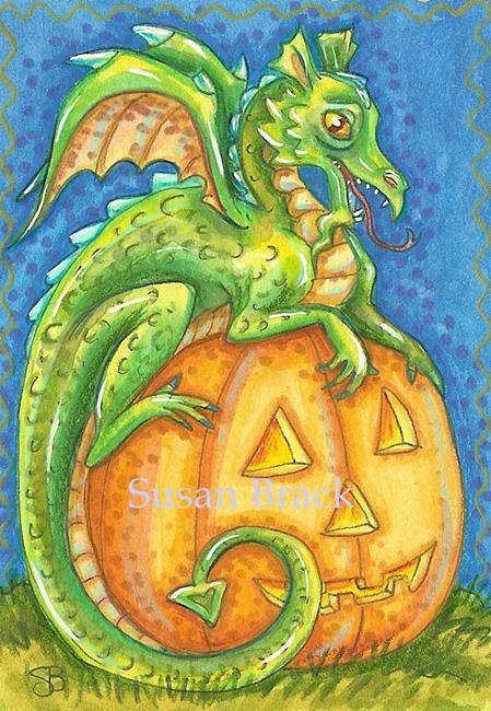 Art: JACK'S DRAGON by Artist Susan Brack