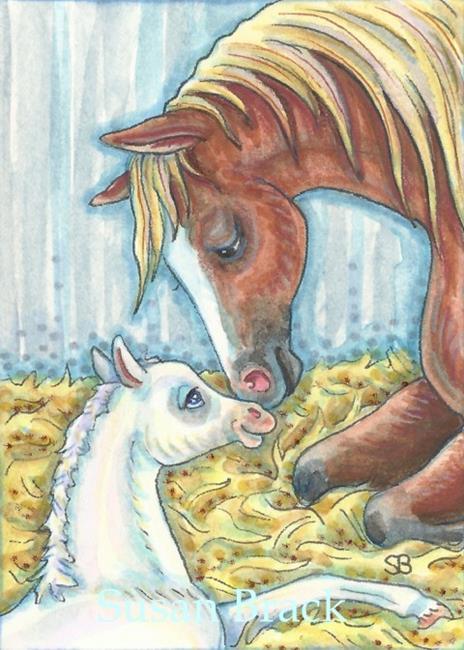 Art: LOVE AT FIRST SIGHT by Artist Susan Brack