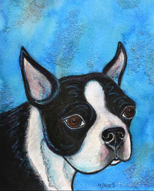 Art: Boston Blues by Artist Melinda Dalke