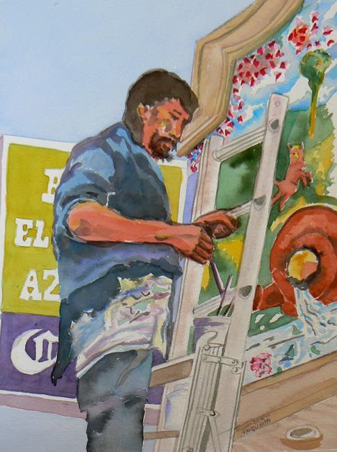 Art: mural painter web by Artist Naquaiya