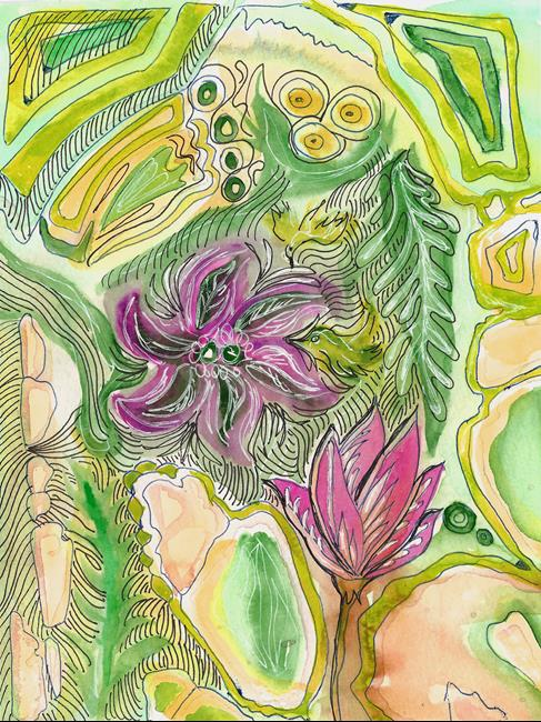 Art: redtulip etc by Artist Naquaiya