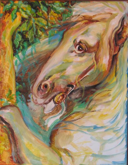 Art: Horse by Artist Luda Angel