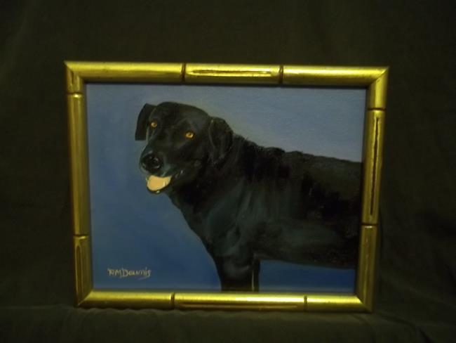 Art: JAY'S DOG MAX by Artist Rosemary Margaret Daunis