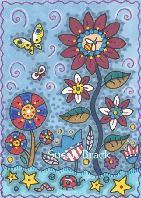 Art: VICTORY GARDEN by Artist Susan Brack