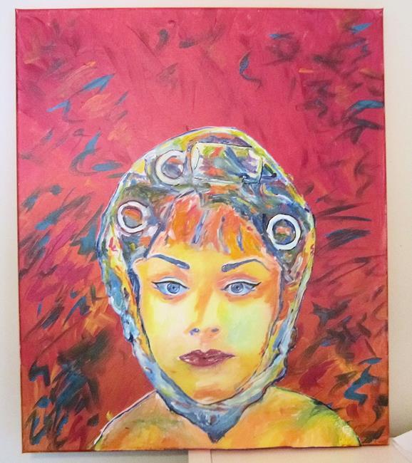 Art: Pop Art Divine Dragqueen Dawn Davenport Female Trouble by Artist Paul Lake, Lucky Studios