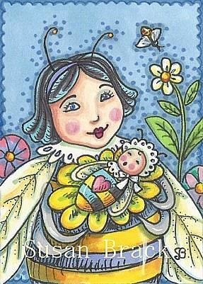 Art: YOU'LL ALWAYS BEE MY BABY by Artist Susan Brack
