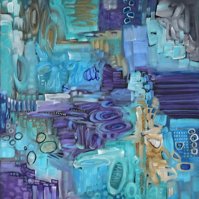 Art: Tide Pools ~ Low Tide Series - Sold by Artist Dana Marie