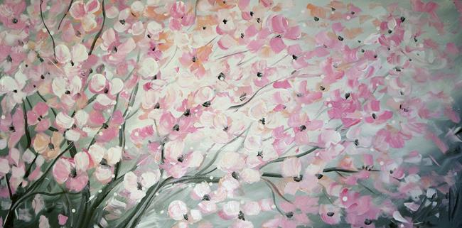 Art: PINK CHERRY TREE by Artist LUIZA VIZOLI
