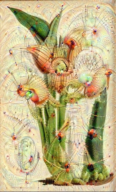 Art: Modern Botanical 4492 by Artist Alma Lee