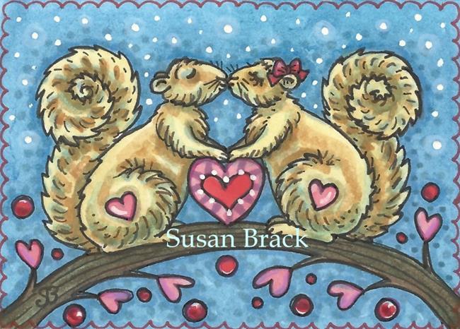 Art: NUTTY OVER YOU by Artist Susan Brack