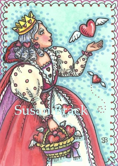 Art: SET YOUR HEART FREE by Artist Susan Brack