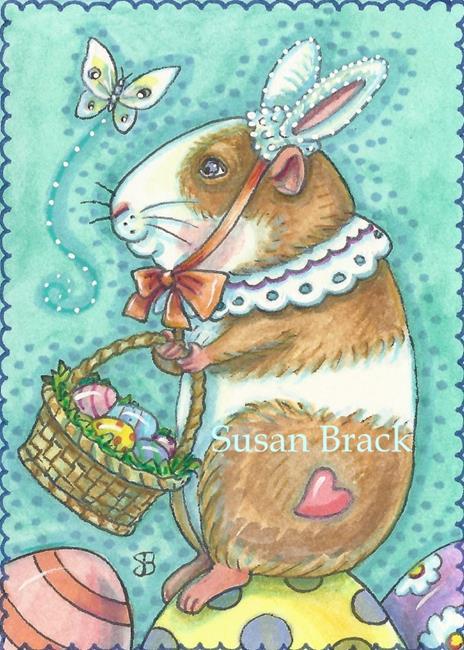 Art: READY FOR EASTER by Artist Susan Brack
