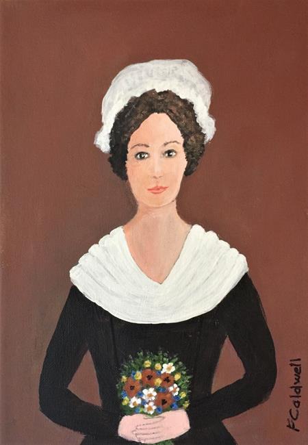 Art: Martha and the Posy by Artist Fran Caldwell