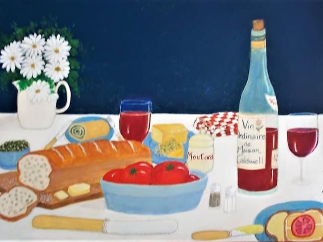 Art: Light Lunch by Artist Fran Caldwell
