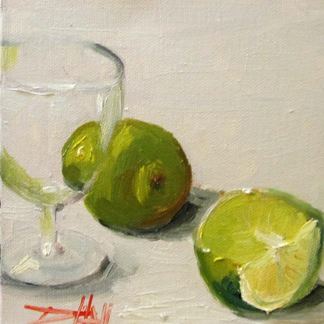 Art: Limes No. 2 by Artist Delilah Smith