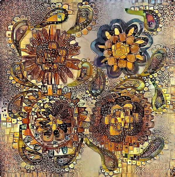 Art: Gustav Flowers by Artist Alma Lee