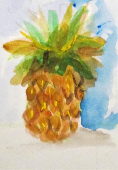Art: Pineapple by Artist Delilah Smith