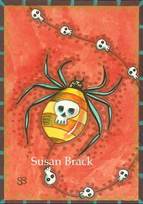 Art: DEAD MAN SPIDER by Artist Susan Brack
