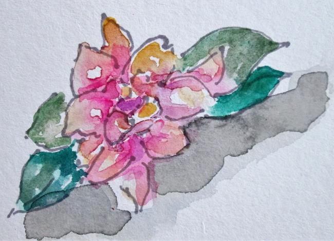 Art: Gardinia by Artist Delilah Smith