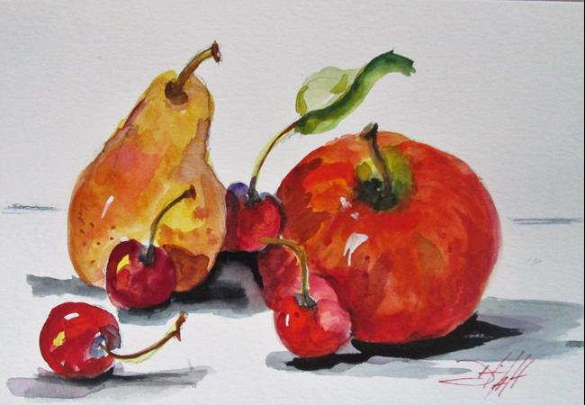 Art: Fruit Still Life by Artist Delilah Smith