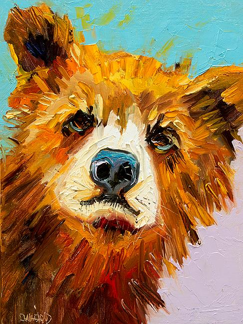 Art: Little Peeper by Artist Diane M Whitehead