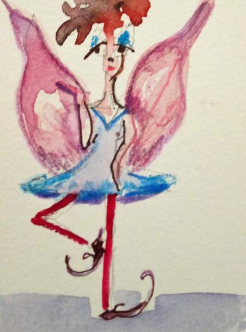 Art: Dancing Fairy by Artist Delilah Smith