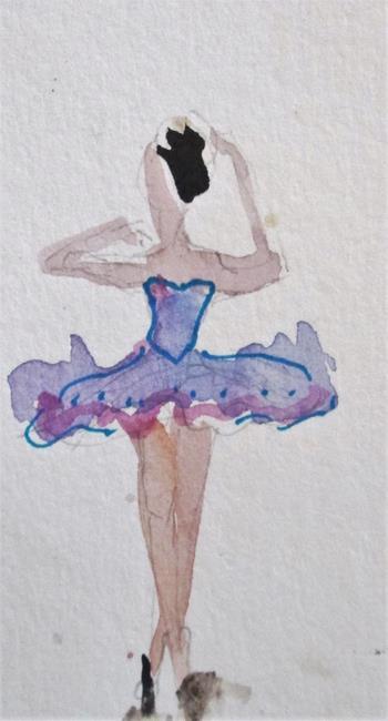 Art: Ballerina TuTu by Artist Delilah Smith