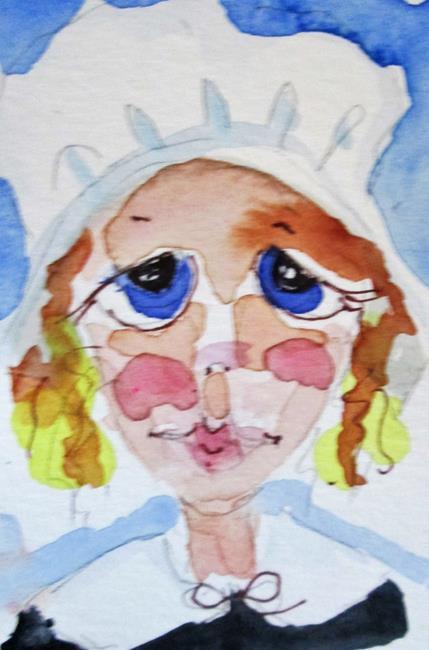 Art: Pilgrim by Artist Delilah Smith