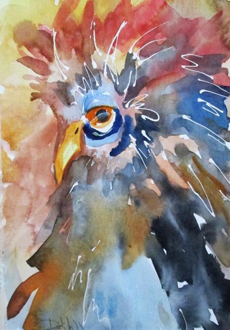 Art: Bird by Artist Delilah Smith