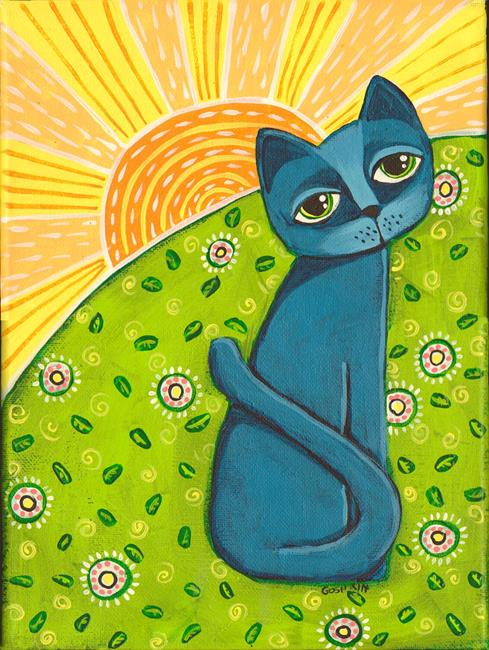 Art: Sunshine by Artist Cindy Bontempo (GOSHRIN)