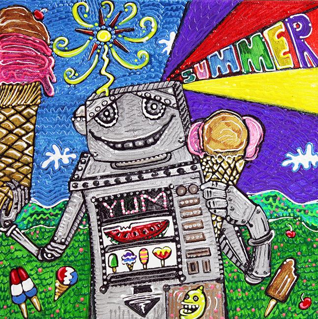 Art: Summer Yum by Artist Laura Barbosa