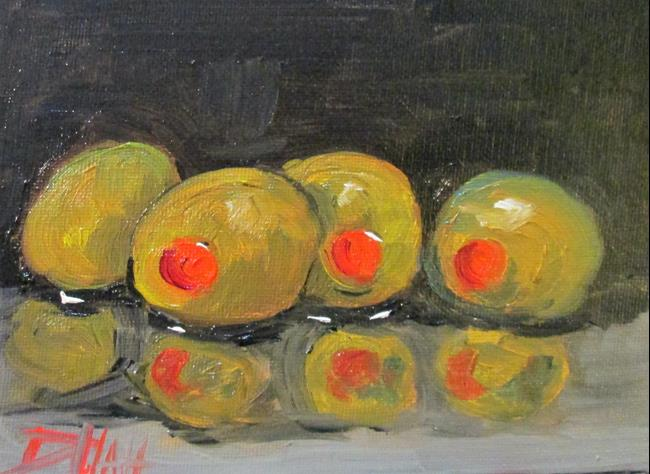 Art: Four Olives by Artist Delilah Smith