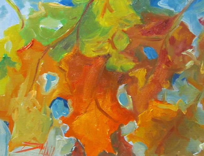 Art: Fall Leaves No. 3 by Artist Delilah Smith