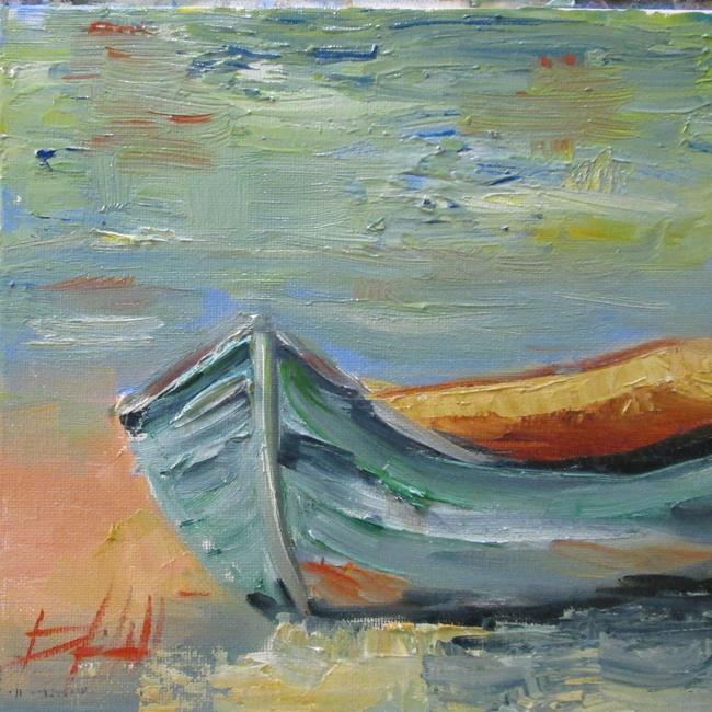 Art: Boat by Artist Delilah Smith