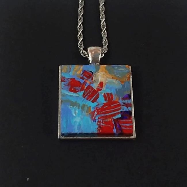 Art: Original Abstract Painting - Wearable Art - Sold by Artist Dana Marie