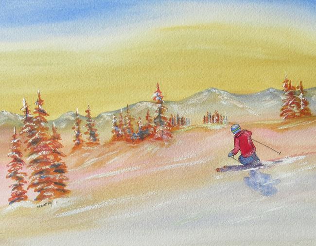 Art: Bliss by Artist Kathy Crawshay