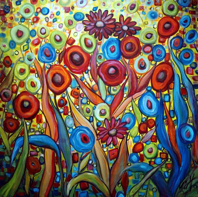 Art: MY Bohemian FANTASY GARDEN by Artist LUIZA VIZOLI